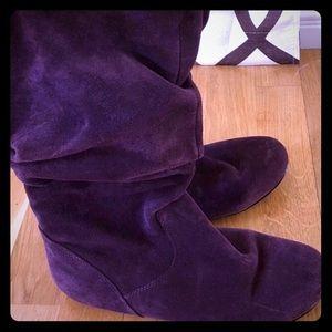 Steve Madden Deep Purple Tiana Boots Sz. 7.5